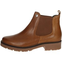 Schoenen Dames Laarzen Pitillos 6432 Brown leather