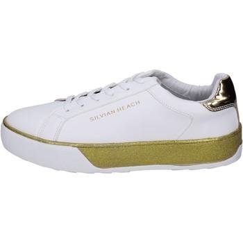 Schoenen Meisjes Sneakers Silvian Heach BK492 Blanc
