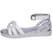 Schoenen Meisjes Sandalen / Open schoenen Fiorucci Sandali Pelle sintetica Strass Bianco