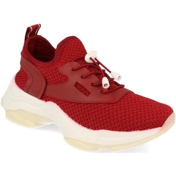 Schoenen Dames Lage sneakers Buonarotti 1AD-0446 Rojo