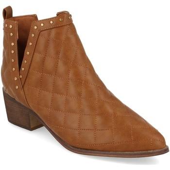 Schoenen Dames Enkellaarzen Buonarotti 1A-0393 Camel