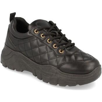 Schoenen Dames Lage sneakers Buonarotti 1AD-0449 Negro