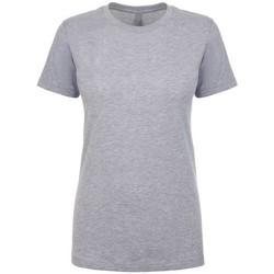 Textiel Dames T-shirts korte mouwen Next Level NX3900 Heide Grijs