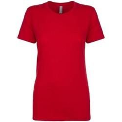 Textiel Dames T-shirts & Polo's Next Level NX3900 Rood