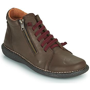 Schoenen Dames Laarzen Casual Attitude NELIO Brown