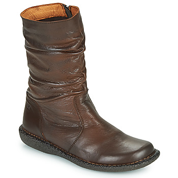 Schoenen Dames Laarzen Casual Attitude NIELOO Brown