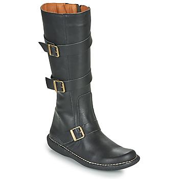 Schoenen Dames Hoge laarzen Casual Attitude NIBOOT Zwart