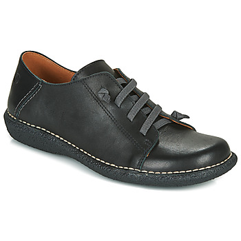 Schoenen Dames Derby Casual Attitude NIPITE Zwart