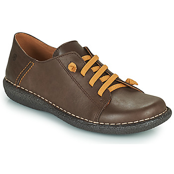Schoenen Dames Derby Casual Attitude NIPITE Brown