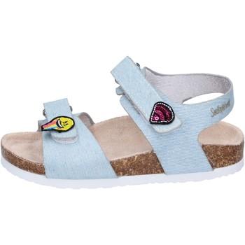 Schoenen Meisjes Sandalen / Open schoenen Smiley Sandales BK510 Bleu