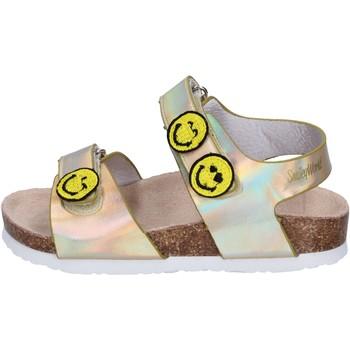 Schoenen Meisjes Sandalen / Open schoenen Smiley Sandales BK511 Or