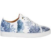 Schoenen Lage sneakers Baron Papillon Sneaker  Basse Marie-Antoinette Bleu