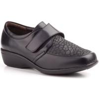 Schoenen Dames Mocassins Cbp - Conbuenpie Zapatos confort de piel by CBP Noir