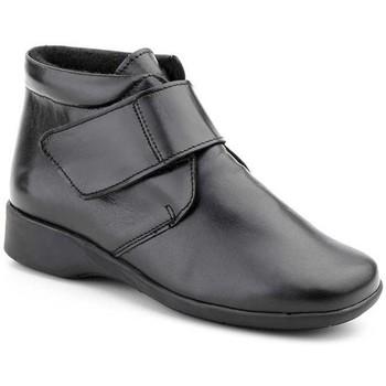 Schoenen Dames Laarzen Morxiva Shoes Botines confort de piel by Morxiva Noir