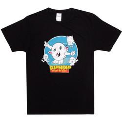 Textiel Heren T-shirts & Polo's Ripndip Nerm story tee Zwart