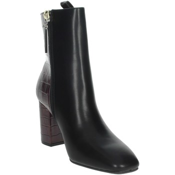 Schoenen Dames Laarzen Gioseppo 60558 Black/Burgundy