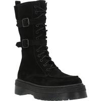 Schoenen Dames Hoge laarzen Alpe 4350 11 Zwart