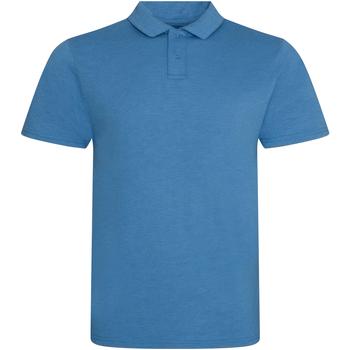 Textiel Heren Polo's korte mouwen Awdis JP001 Heide Saffier