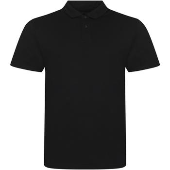 Textiel Heren Polo's korte mouwen Awdis JP001 Massief zwart