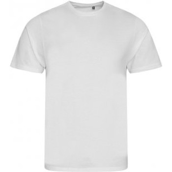 Textiel Heren T-shirts korte mouwen Ecologie EA001 Arctisch Wit