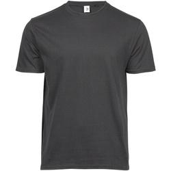 Textiel Heren T-shirts korte mouwen Tee Jays TJ1100 Donkergrijs