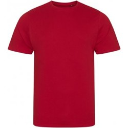 Textiel Heren T-shirts & Polo's Ecologie EA001 Vuurrood