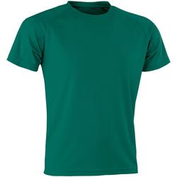 Textiel Heren T-shirts korte mouwen Spiro SR287 Fles