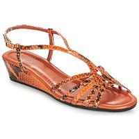 Schoenen Dames Sandalen / Open schoenen Amalfi by Rangoni NAMIBIAPRT Orange