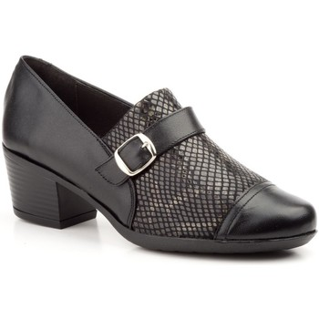 Schoenen Dames pumps Cbp - Conbuenpie Zapatos confort de piel by CBP Noir