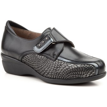 Schoenen Dames Mocassins Gavi's Shoes Para Ella Zapatos confort de piel by Gavis Noir