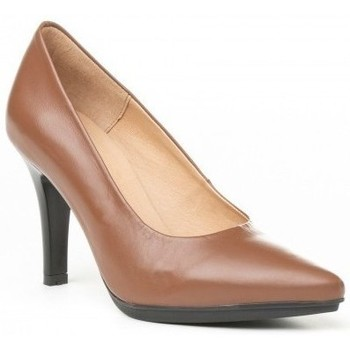 Schoenen Dames pumps Cbp - Conbuenpie Salones de piel con gel by CBP Marron