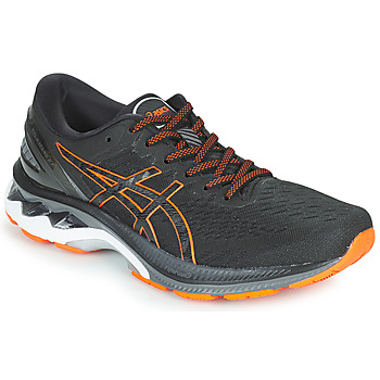 Schoenen Heren Running / trail Asics KAYANO 27 Zwart / Orange