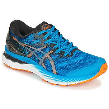 Schoenen Heren Running / trail Asics NIMBUS 23 Blauw / Multicolour