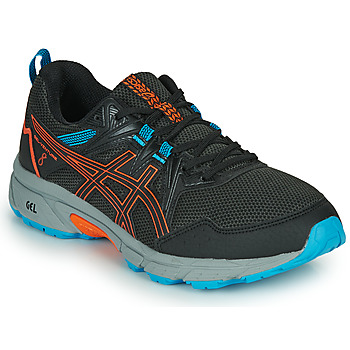 Schoenen Heren Running / trail Asics VENTURE 8 Zwart / Orange