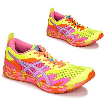 Schoenen Dames Running / trail Asics NOOSA TRI 12 Geel / Multicolour