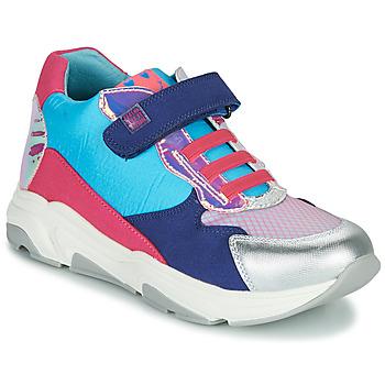 Schoenen Meisjes Hoge sneakers Agatha Ruiz de la Prada BRAZIL Blauw