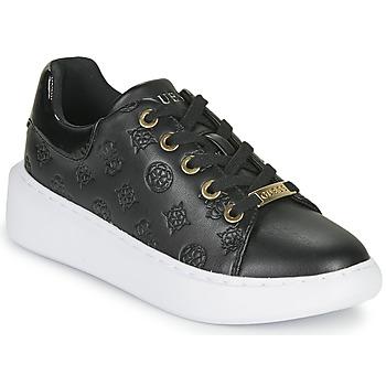 Schoenen Dames Lage sneakers Guess BRADLY Zwart