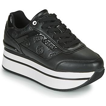 Schoenen Dames Lage sneakers Guess HANSIN Zwart