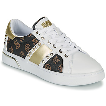 Schoenen Dames Lage sneakers Guess RICENA Wit / Brown