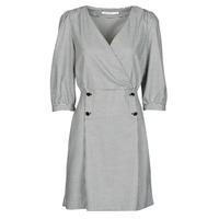 Textiel Dames Korte jurken Naf Naf  Zwart / Wit