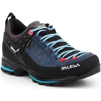 Schoenen Dames Fitness Salewa WS Mtn Trainer 2 Gtx Noir, Bleu marine