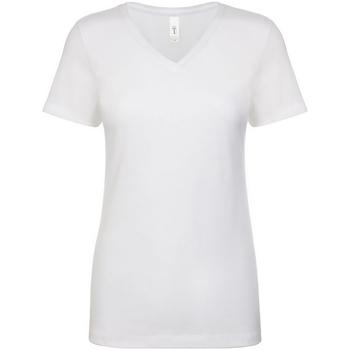 Textiel Dames T-shirts korte mouwen Next Level NX1540 Wit