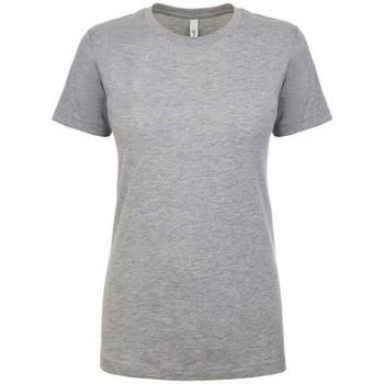 Textiel Dames T-shirts korte mouwen Next Level NX1510 Heide Grijs