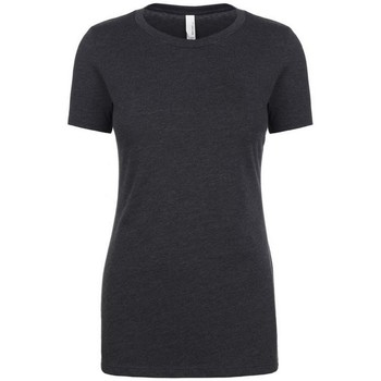 Textiel Dames T-shirts korte mouwen Next Level NX6610 Houtskool
