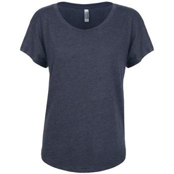 Textiel Dames T-shirts korte mouwen Next Level NX6760 Vintage Marine