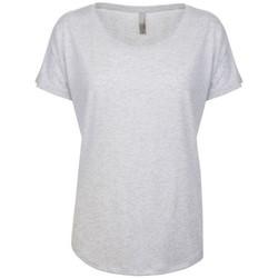 Textiel Dames T-shirts korte mouwen Next Level NX6760 Heidewit