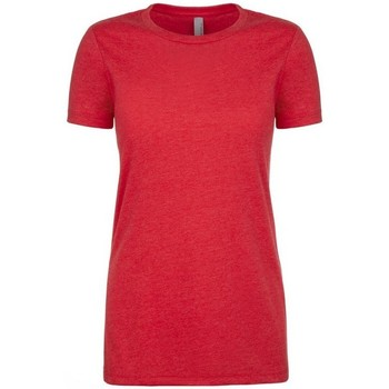 Textiel Dames T-shirts korte mouwen Next Level NX6610 Rood