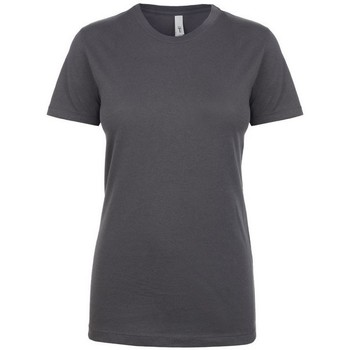 Textiel Dames T-shirts korte mouwen Next Level NX1510 Donkergrijs