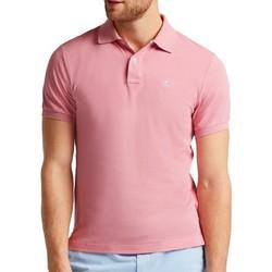 Textiel Heren Polo's korte mouwen Hackett  Roze