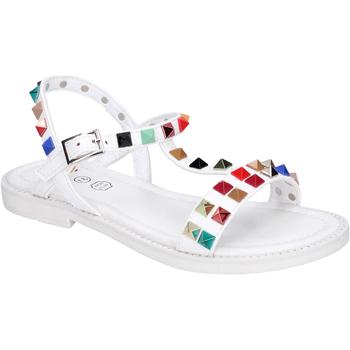 Schoenen Meisjes Sandalen / Open schoenen Joli Sandales BK530 Blanc